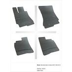 MERCEDES S-KLASA dywaniki gumowe (4 szt, czarne) FROGUM FROGUM 542575