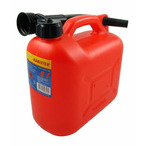 Kanister z lejkiem 5 litrów - plastikowy GIT 20816