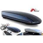Bagażnik dachowy - box MENABO Mania 580 ABS (czarny - udźwig 75kg) MENABO MANIA580B