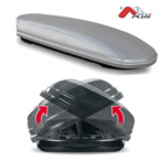 Bagażnik dachowy - box MENABO Mania 580 DUO ABS (srebrny - udźwig 75kg) MENABO MANIA580DUOS