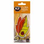 Zapach K2 Flora Fresh (papierowa zawieszka, mandarin)