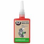 Klej do łożysk W620 mocny  K2 50g zielony 150C, szczel. 0,4 K2 W26205