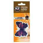 Zapach samochodowy K2 Fresh Wind zawieszka motyl vanilla K2 V184