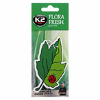 Zapach K2 Flora Fresh (papierowa zawieszka, green tea) K2 V193