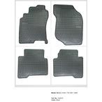 NISSAN X-TRAIL dywaniki gumowe (4 szt, czarne) FROGUM FROGUM 542810