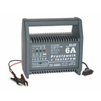 Prostownik BNW12V/6sv 12V/6A wskaźnik diodowy, samoczynny, tester napiecia, 20 - 60Ah ELSIN 3004-102-015