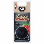 Zapach K2 Stereo Strawberry (kratka z nasączoną włókniną) K2 V157