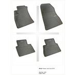NISSAN JUKE dywaniki gumowe (4 szt, czarne) FROGUM