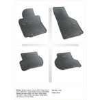 SKODA,SEAT,VW dywaniki gumowe (4 szt, czarne) FROGUM