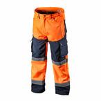 Spodnie robocze ostrzegawcze softshell, pomarańczowe, rozmiar XXL NEO TOOLS 81-751-XXL