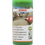 Ściereczki do skóry SONAX 25 sztuk