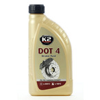 Płyn Hamulcowy K2 DOT4 1 Litr