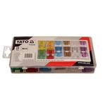 Zestaw 24 bezpieczników płytkowych maxi YATO YT-83140