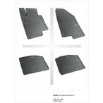 KIA OPTIMA dywaniki gumowe (4 szt, czarne) FROGUM FROGUM 0426