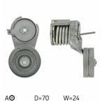 Rolka napinacza paska klinowego wielorowkowego SKF VKM 31016