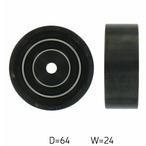 Rolka kierunkowa, prowadząca paska klinowego zębatego SKF VKM 31038