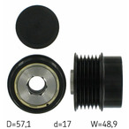 Sprzęgło jednokierunkowe alternatora SKF VKM 03830