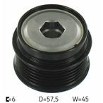 Sprzęgło jednokierunkowe alternatora SKF VKM 03832