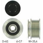 Sprzęgło jednokierunkowe alternatora SKF VKM 03116