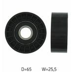 Rolka kierunkowa, prowadząca paska klinowego zębatego SKF VKM 32104