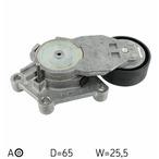 Rolka napinacza paska klinowego wielorowkowego SKF VKM 33043