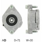 Rolka napinacza paska klinowego wielorowkowego SKF VKM 31210