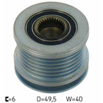 Sprzęgło jednokierunkowe alternatora SKF VKM 03106