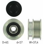 Sprzęgło jednokierunkowe alternatora SKF VKM 03103
