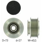 Sprzęgło jednokierunkowe alternatora SKF VKM 03104
