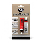 Dwuskładnikowy klej przezroczysty K2 Multi Bond 40 ml K2 B121