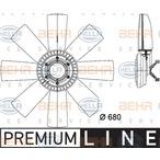 Wentylator chłodnicy silnika BEHR HELLA SERVICE 8MV 376 731-461