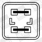 Wentylator chłodnicy silnika BERU LE011
