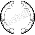 Szczęki hamulcowe hamulca postojowego - komplet METELLI 53-0027