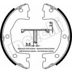 Szczęki hamulcowe hamulca postojowego - komplet METELLI 53-0077