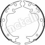 Szczęki hamulcowe hamulca postojowego - komplet METELLI 53-0159