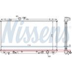 Chłodnica wody NISSENS 64653A