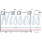 Nagrzewnica ogrzewania kabiny NISSENS 70515