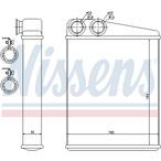 Nagrzewnica ogrzewania kabiny NISSENS 70807