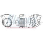 Silnik elektryczny, dmuchawa wewnętrzna NISSENS 87262