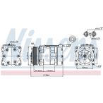 Kompresor klimatyzacji NISSENS 89056