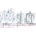 Chłodnica oleju automatycznej przekładni NISSENS 90891