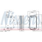 Chłodnica oleju automatycznej przekładni NISSENS 90903