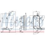 Chłodnica oleju automatycznej przekładni NISSENS 91109
