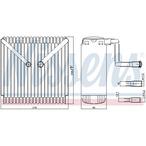 Parownik klimatyzacji NISSENS 92015