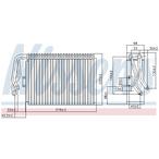 Parownik klimatyzacji NISSENS 92097