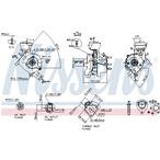 Turbosprężarka NISSENS 93038