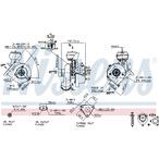 Turbosprężarka NISSENS 93043