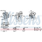 Turbosprężarka NISSENS 93070
