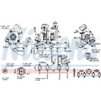 Turbosprężarka NISSENS 93099