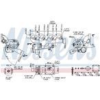 Turbosprężarka NISSENS 93106